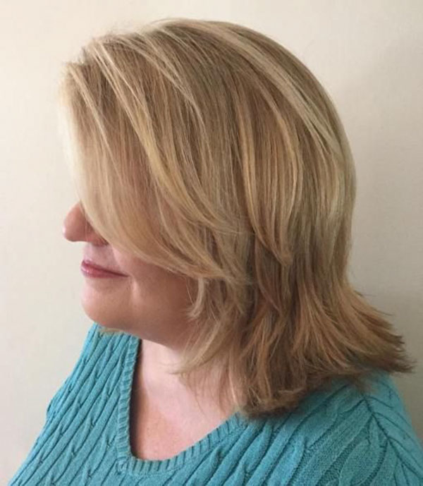 Hairstyles For Medium Hair Over 50