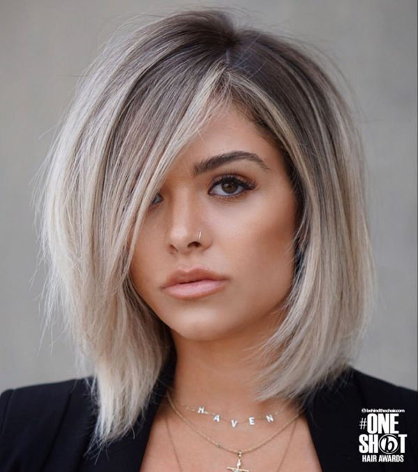 Short To Medium Haircuts For Thick Straight Hair