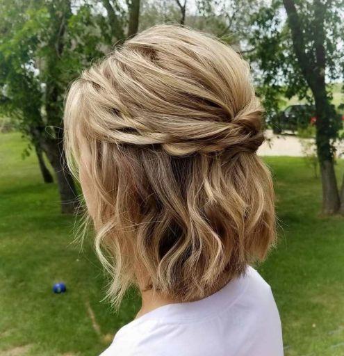 Medium Half Up Hairstyles 2021