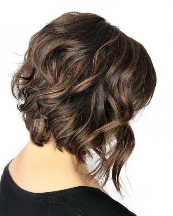 Medium Light Brown Wavy Hair