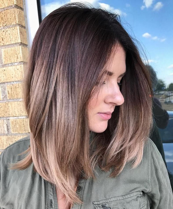 Short To Medium Hairstyles For Thick Straight Hair