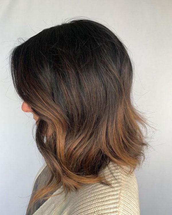 Medium And Brown Hair
