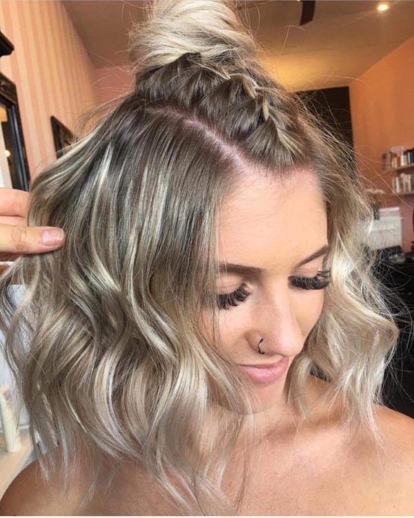 Braided Half Up Hairstyles For Medium Hair