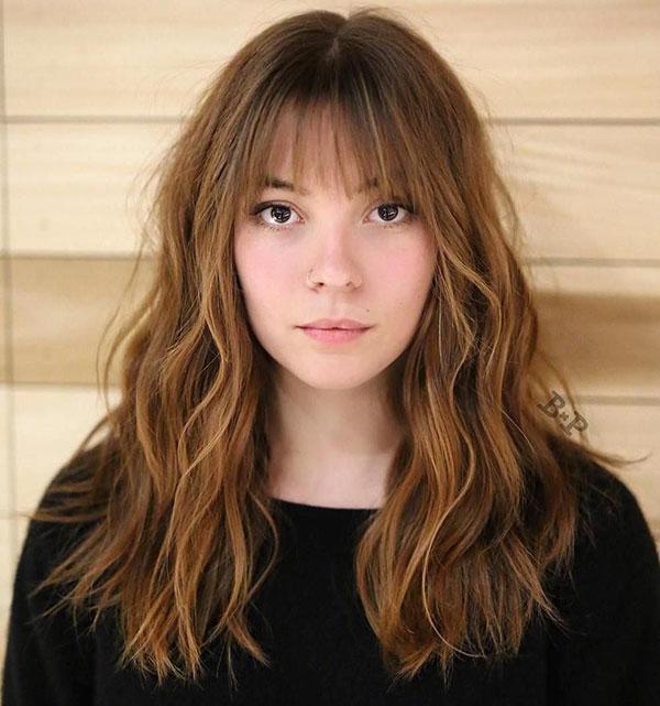 Cute Medium Length Haircuts With Bangs
