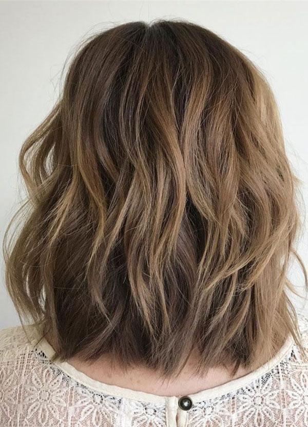 Medium Layered Haircut Styles For Thick Hair