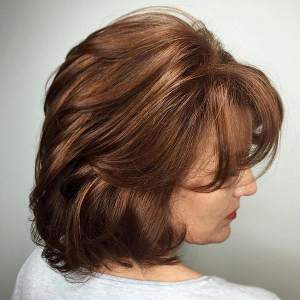 Best Medium Haircuts For Over 50