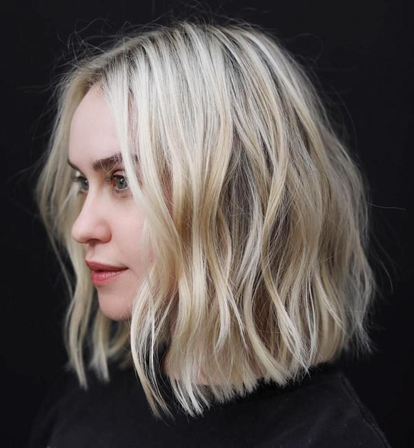 Choppy Medium Length Hairstyles For Thick Hair