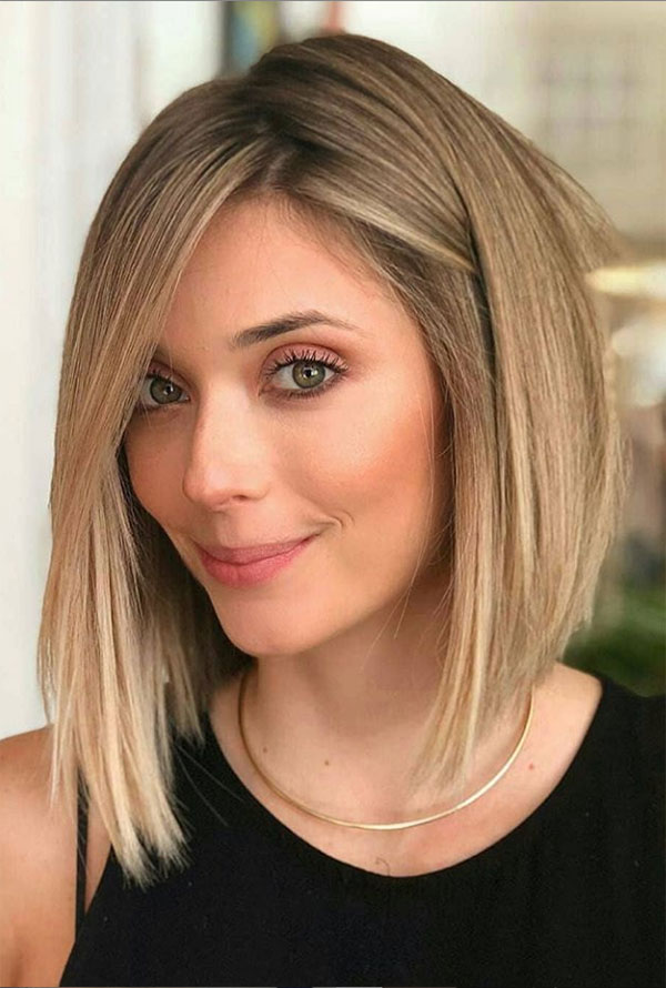 Medium Hairstyles For Thick Straight Hair